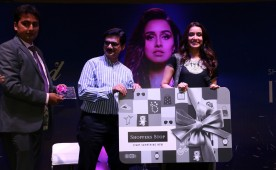 Photos of Bollywood Actress Shraddha Kapoor during the Enthnic Wear store launch, in Mumbai, on Dec 9, 2016.