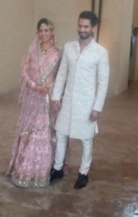 Shahid Kapoor and Mira Rajput Wedding Reception,Shahid Kapoor and Mira Rajput Wedding Reception Pics,Shahid Kapoor and Mira Rajput Wedding Reception stills,Shahid Kapoor Wedding Reception Pics,Shahid Kapoor Wedding Reception,Shahid Kapoor Wedding Receptio