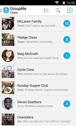 GroupMe Messenger
