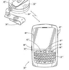 Blackberry Wearable Patent