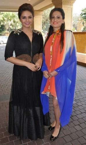 Huma Qureshi with Bulbeer Gandhi at Shagun 2014
