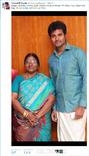 Mother's Day Special: Kollywood Celebs with their Moms ...