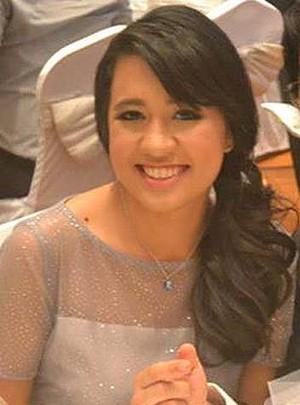 Captain Zaharie Ahmad Shah's Daughter, Aishah Zaharie (Photo: Facebook)