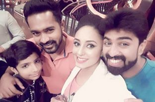 Gp,GP photos,Pearle Maaney,GP and Pearle,D4 dance