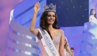 Chillar, who is from Haryana, had earlier this year won the Femina Miss India 2017.