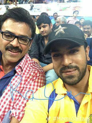 Daggubati Venkatesh and Allu Arjun