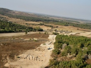 2,300-Year-Old Town Uncovered in Israel (Skyview, courtesy of the Israel Antiquities Authority)