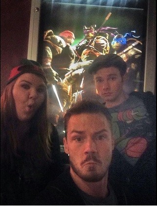 Chris with Ashley Fink and boyfriend Will