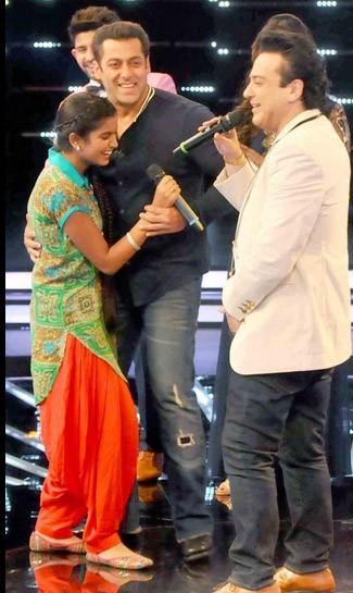 Salman Khan,Sonakshi Sinha,Salman Khan and Sonakshi Sinha at Indian Idol Junior sets,Salman Khan and Sonakshi Sinha,Indian Idol Junior sets,Indian Idol,Salman Khan and Sonakshi Sinha at Indian Idol