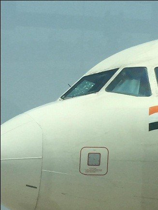 Air India Windshield