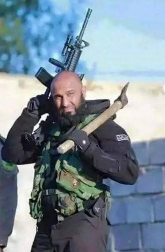 Angel of death,Iraqi rambo,rambo,Abu Azrael,Isis killer,Shia hero,shia poster boy,Abu Azrael rambo,Ayyub Faleh al-Rubaie