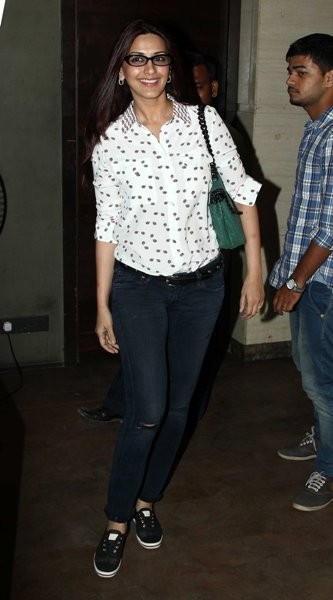 Sonali Bendre at special screening of 'X-Men: Days of Future Past'