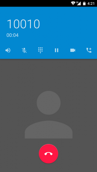 Android Lollipop 5.0 Screenshot on Xiaomi MI2