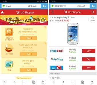 UCBrowser launches Diwali Shopping Festival