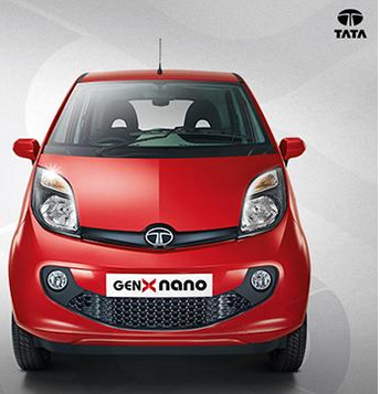 Tata's New Nano GenX Easy Shift