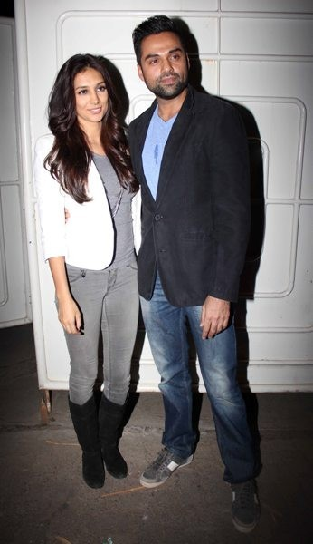 Abhay Deol and Preeti Desai at 'One By Two' Special screening