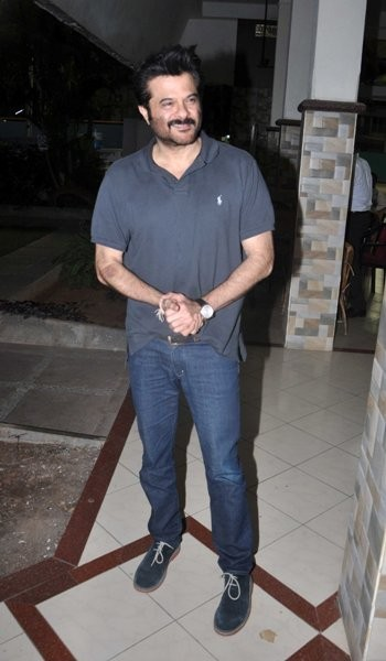 Actor Anil Kapoor at the launching of the book, 'Sagar Movietone.'