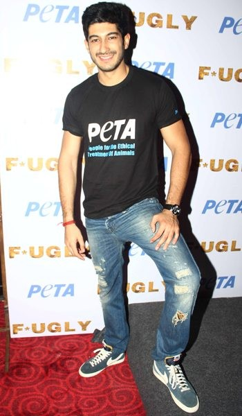Fugly starscast at peta's new campaign launch
