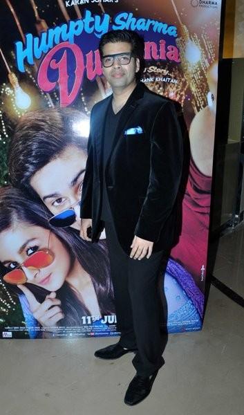 Karan Johar at Trailer launch of upcoming film 'Humpy Sharma Ki Dulhania'