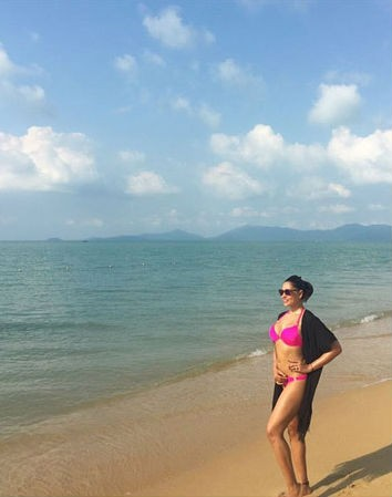 Bipasha Basu,Bipasha Basu beach holiday,Bipasha Basu's beach holiday with Karan Singh Grover,bipasha basu bikini pictures,Bipasha basu bikini,Karan Singh Grover