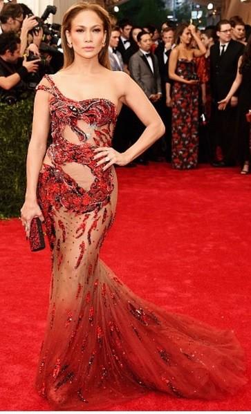 Jennifer lopez at met gala