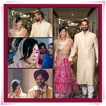 Shikhar Dhawan and wife Ayesha