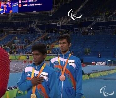 Mariyappan Thangavelu,Mariyappan Thangavelu wins gold,Mariyappan Thangavelu gold,Rio Paralympics,Rio Paralympics 2016,India,India at Rio Paralympics,high jump