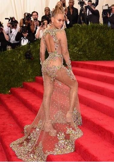 Beyonce at Met Gala 2015