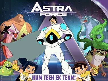 Astra,Astra first look,Astra Force,Amitabh Bachchan,Amitabh Bachchan's 74th birthday,animated movie,Amitabh Bachchan animated movie