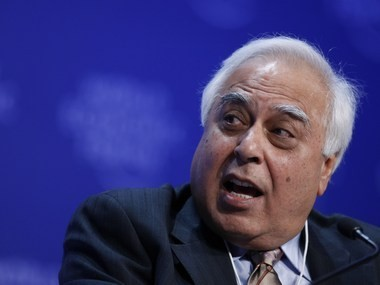 Communication and IT minister Kapil Sibal