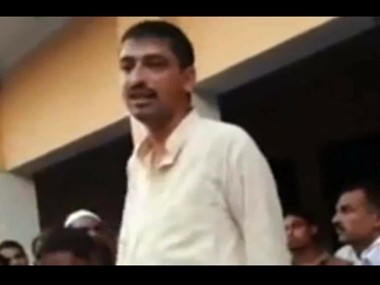 """Imran Masood, a Congress candidate for Sahranpur has stirred up controversy by threatening to """"chop Narendra Modi into pieces"""" (YouTube screen grab)."""