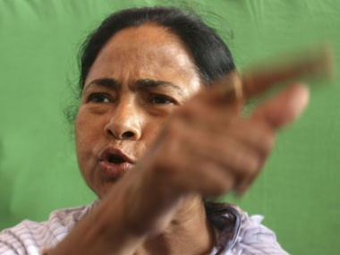 An enraged Mamata Banerjee (Reuters)