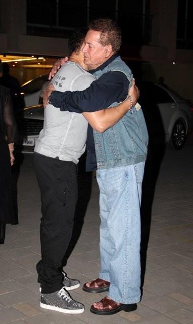 Salman Khan and his father Salim Khan