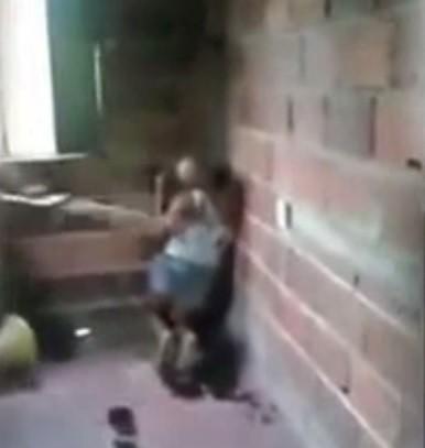 Disturbing video shows man brutally abusing woman