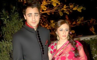 Avantika Malik with Husband Imran Khan