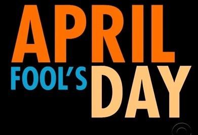 April Fools day 2015