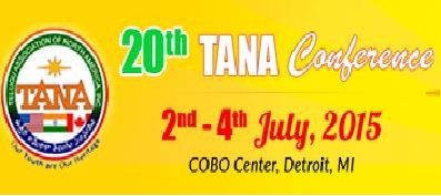 20th TANA 2015 Conference