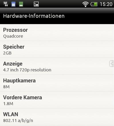 HTC One XXL specs leaked