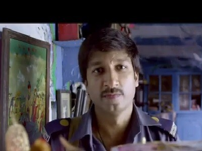 "Screenshot from official trailer of ""Sahasam"" posted on YouTube"
