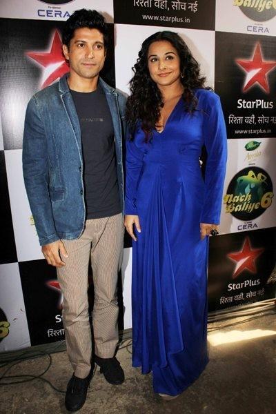 Farhan Akhtar & Vidya Balan on Nach Baliye Grand Finale