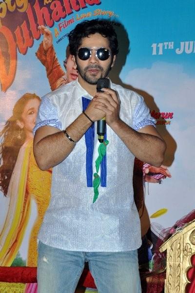 Varun Dhawan  at Trailer launch of upcoming film 'Humpy Sharma Ki Dulhania'