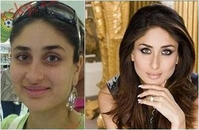 Bollywood Celebs With and Without Makeup,Celebs With and Without Makeup,Bollywood Celebs Without Makeup,Celebs Without Makeup,indian celebs without makeup,indian celebrities with and without makeup,real faces of bollywood actress,indian actress real face