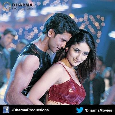 Hrithik and Kareena