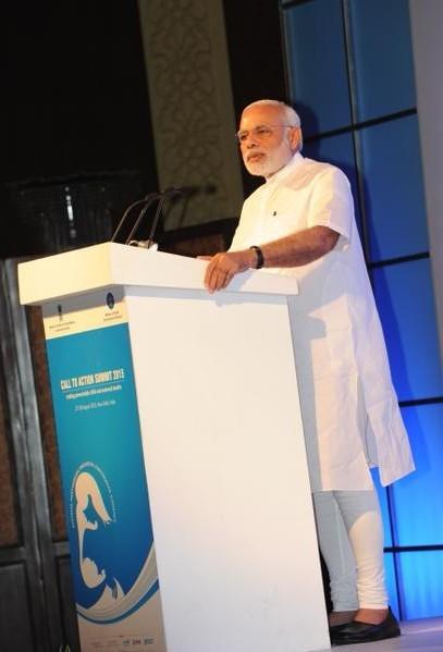 PM Modi,modi,Call to Action,Global 'Call to Action' Summit 2015,Global Summit 2015,Global Summit,Narendra Modi
