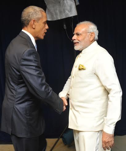 PM Modi,PM Modi meets US President Barack Obama at UN,Modi meets Barack Obama,Barack Obama,Obama,US President Barack Obama