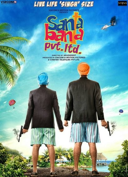 Vir Das,Boman Irani,Santa Banta Pvt Ltd first look poster,Santa Banta Pvt Ltd first look,Santa Banta Pvt Ltd poster,bollywood movie Santa Banta Pvt Ltd,Santa Banta Pvt Ltd movie stills,Santa Banta Pvt Ltd movie pics,Santa Banta Pvt Ltd movie images,Santa