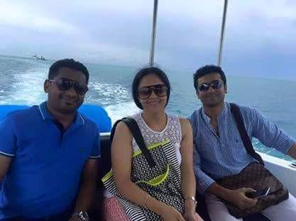 Suriya and Jyothika,Suriya and Jyothika in Maldives,Suriya and Jyothika holidaying in Maldives,Suriya and Jyothika pics,Suriya in Maldives,Jyothika in Maldives,Suriya and Jyothika latest pics,Suriya and Jyothika latest images,Suriya and Jyothika latest ph