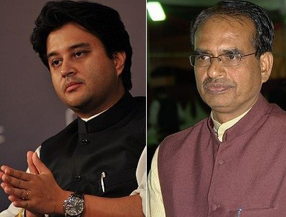 Jyotiraditya Scindia vs Shivraj Singh Chouhan in Madhya Pradesh assembly polls