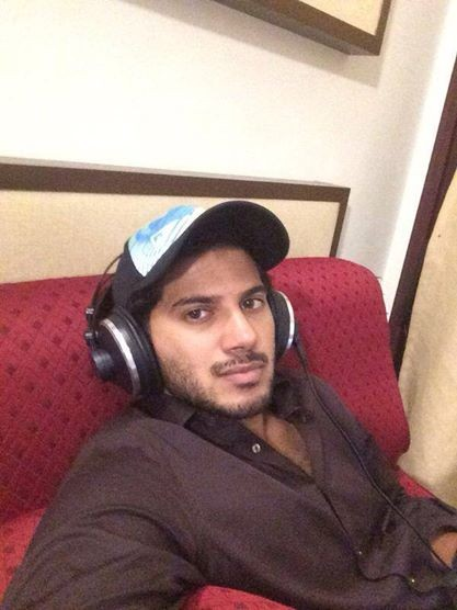 Dulquer during the promo song of
