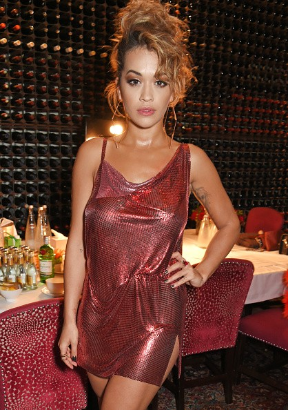 Rita Ora put her hourglass figure on display in a see-through ...